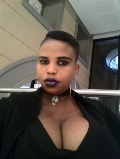 Beautiful african bbw  with huge boobs